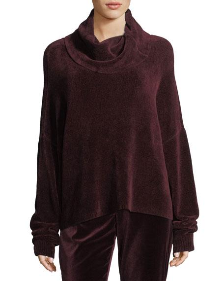 Alice + Olivia Janetta Turtleneck Long-Sleeve Pullover Sweater