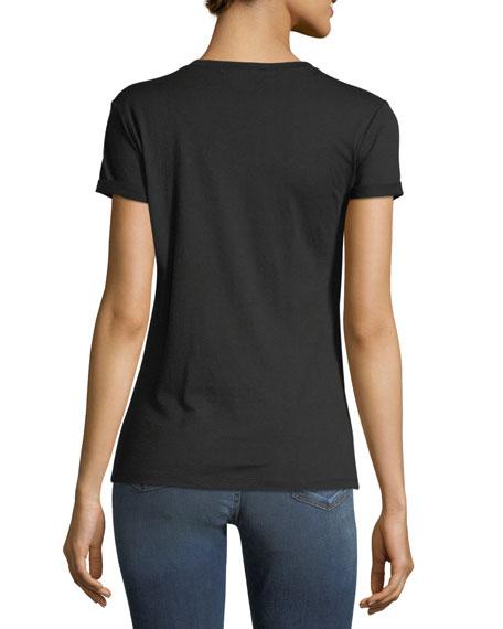 Rhinestone Heart T-Shirt