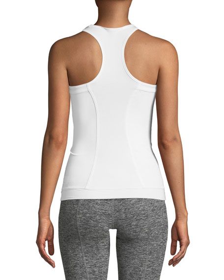 Scoop-Neck Racerback Fitted Performance Tank