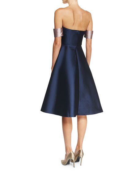 Ali Strapless Fit-and-Flare Cocktail Dress