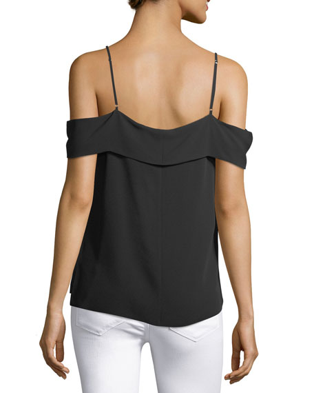 Off-the-Shoulder Classic Georgette Top