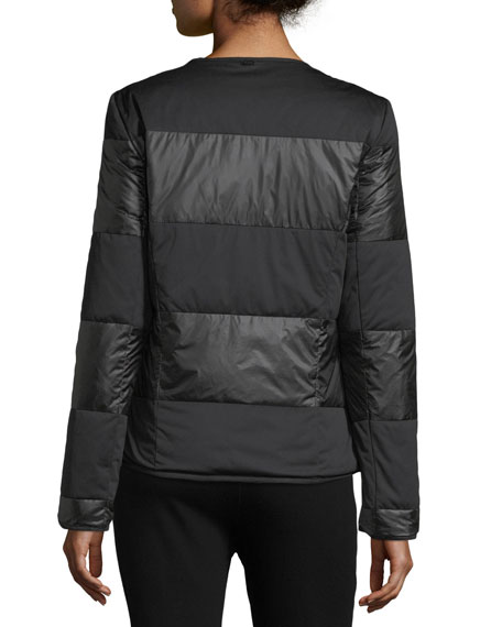 Matte Shiny Nylon Jacket