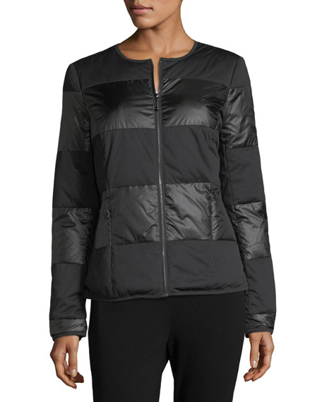 Matte Shiny Nylon Jacket