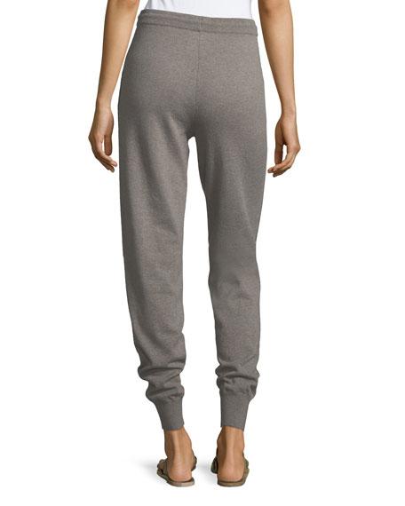 Cashmere Jersey Knit Pants