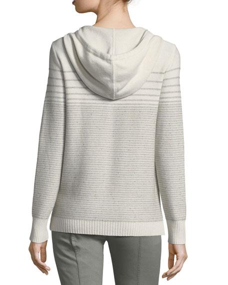 Cashmere-Blend Sequined Knit Bomber Jacket