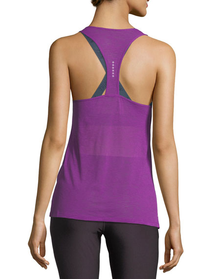 Breeze Cool Scoop-Neck Racerback Running Tank
