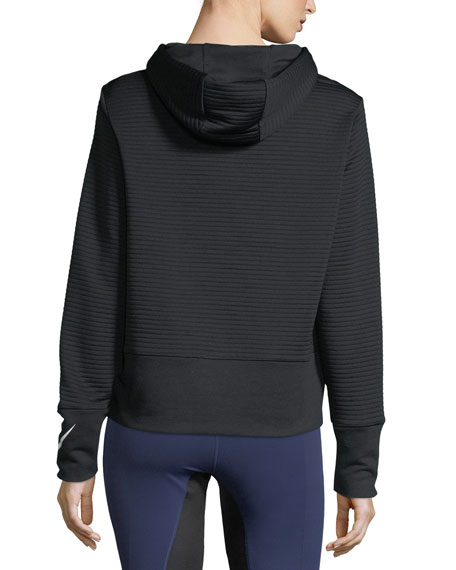 Dry Hooded Pullover Performance Jacket
