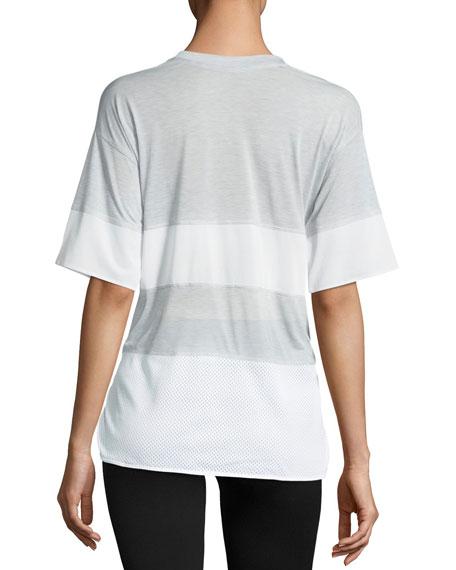 Breathe V-Neck Short-Sleeve Training Top