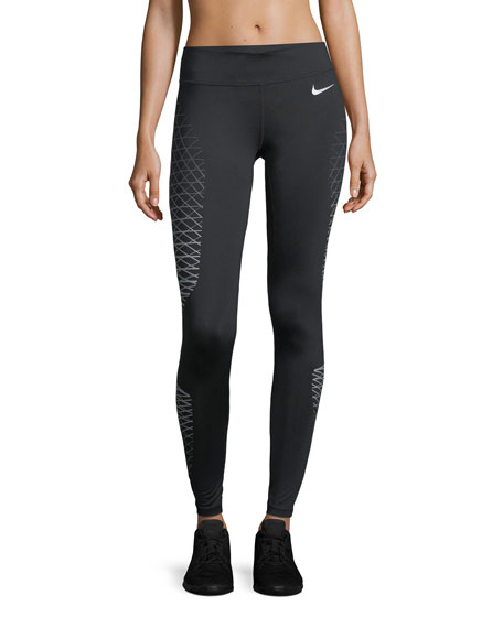 Nike Power Wide-Band Printed Performance Tights