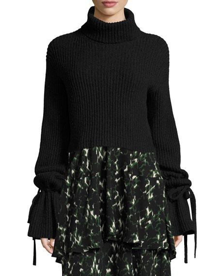 A.L.C. Emille Long-Sleeve Turtleneck Sweater