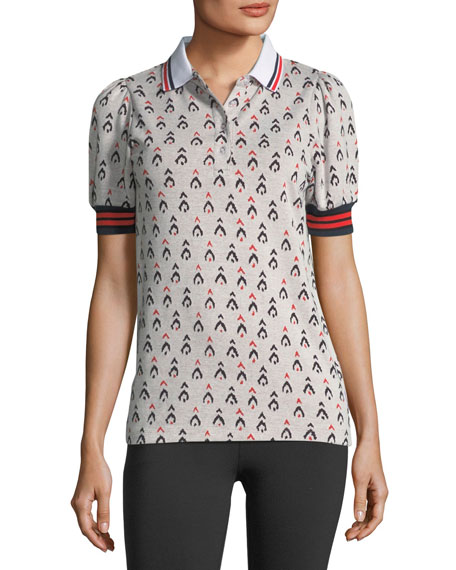 The Upside Witch Mountain Becker Polo Cotton Shirt