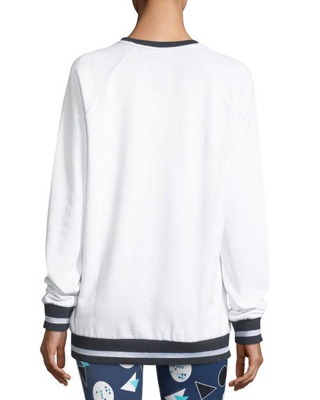 Match-Point Sid Crewneck Pullover Sweatshirt
