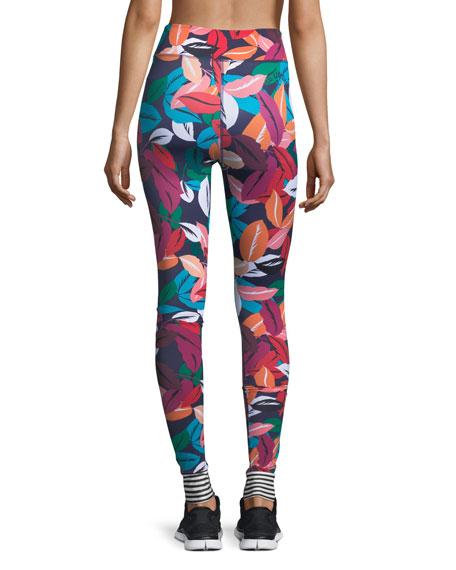 Adventure Time Multicolor Full-Length Yoga Leggings