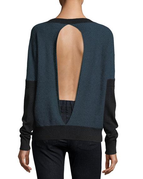 Oliver Split-Back Sweater