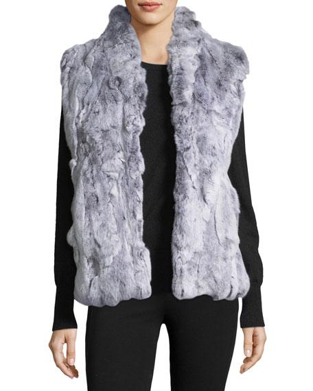 Textured Fur Vest