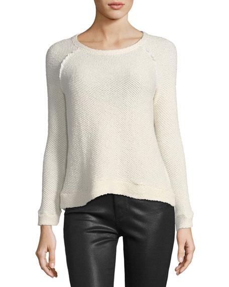 Eve Zip-Back Sweater