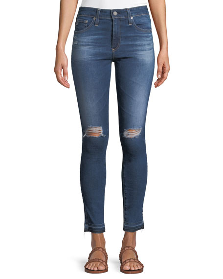AG Adriano Goldschmied Farrah Ankle High-Rise Skinny Denim