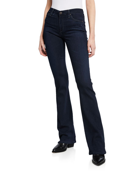 Angel Mid-Rise Boot-cut Jeans