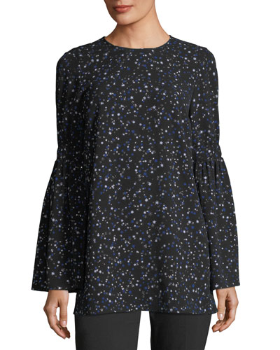 Shooting Star Bell-Sleeve Tunic