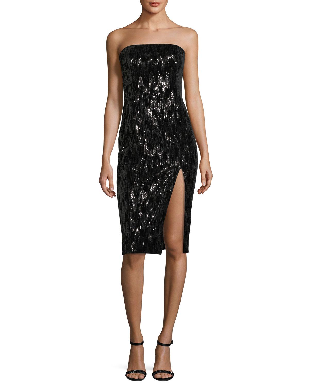 fitted bustier dress - Black Jay Godfrey Kni6L8k9
