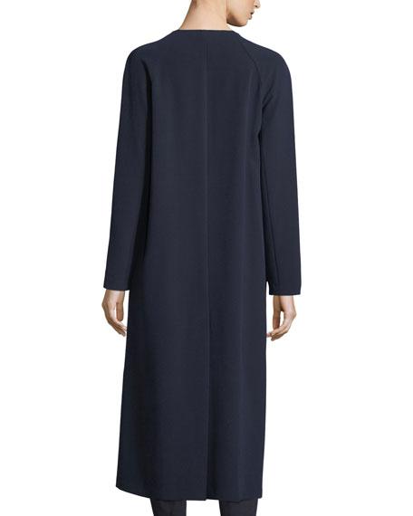 Bella Double Weave Maxi Coat