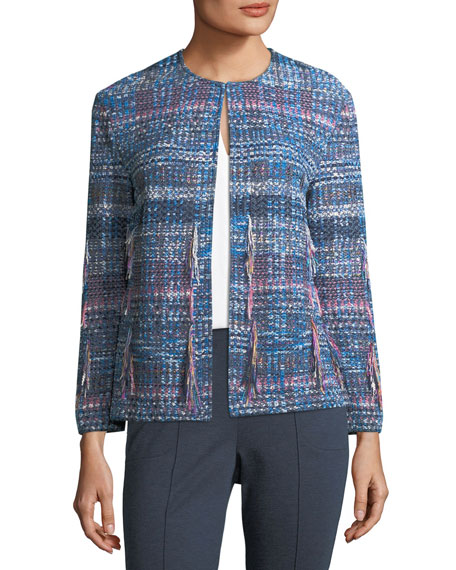 St. John Collection Fil Coupe Knit Jacket