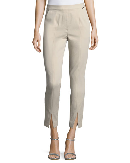 Fine Stretch Twill Pull-On Pants
