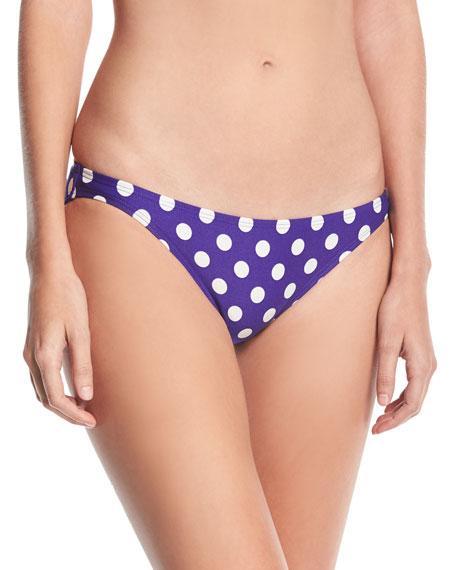 classic polka-dot bikini bottom