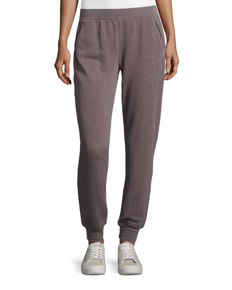 Slim Jogger Cotton-Blend Sweat Pants