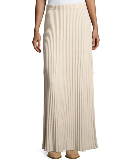 Elizabeth and James Joelle Rib-Knit Column Maxi Skirt