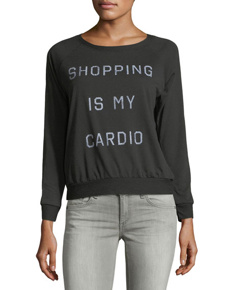 Prince Peter Collection Shopping Cardio Long-Sleeve Relaxed Tee