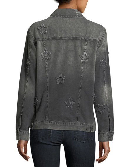 Knox Stars Button-Front Relaxed Jacket