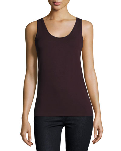 Soft Touch Scoop-Neck Tank