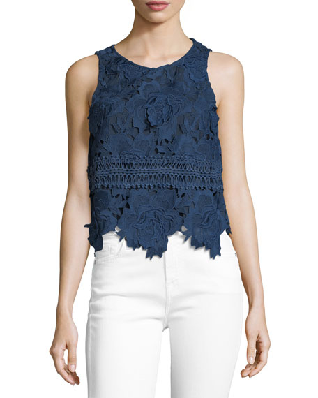 Lovers And Friends Incense Floral-Lace Blouse