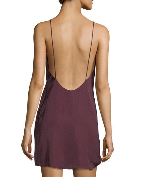 V-Neck Slip Mini Dress