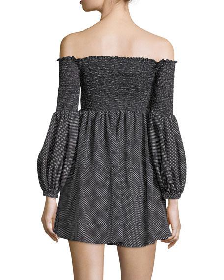 Manning Off-the-Shoulder Mini Dress