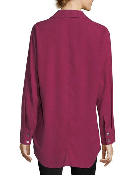 Long Silk Shirt