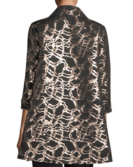Pop the Cork Jacquard Party Jacket