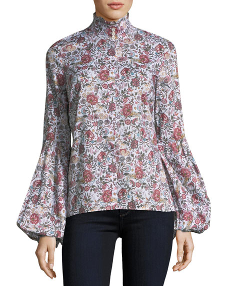 Jaqueline Puff-Sleeve Blouse
