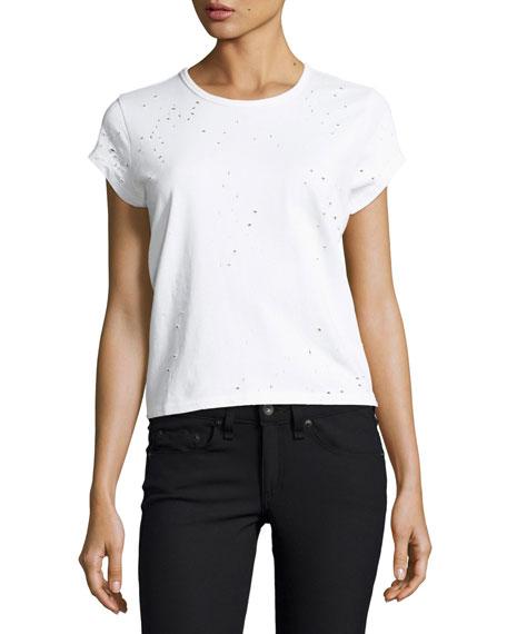 Woo Used Crewneck Short-Sleeve T-Shirt