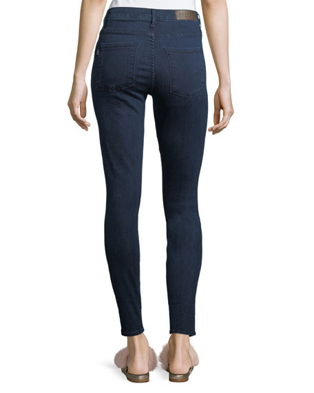 Bombshell Skinny Button-Fly Jeans
