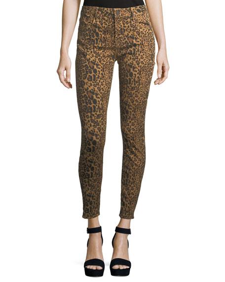 Parker Smith Ava Skinny Leopard Jeans