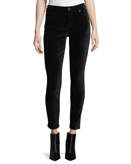 Ava Velvet Skinny Jeans