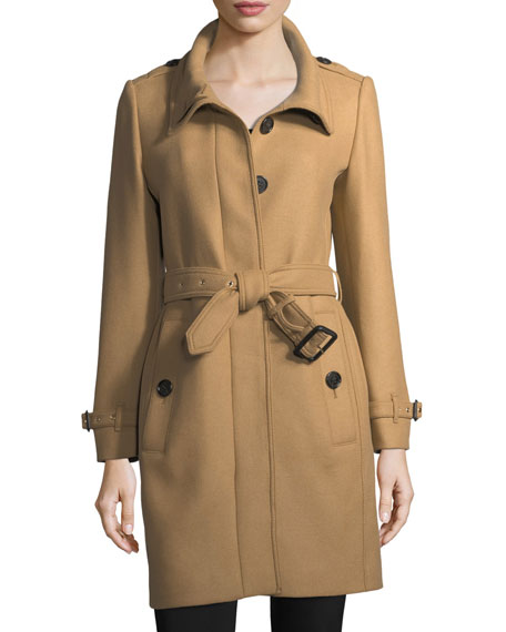 Burberry Gibbs Moores Long Trench Coat