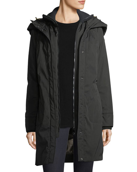 Alessami Hooded Insulated Parka Jacket