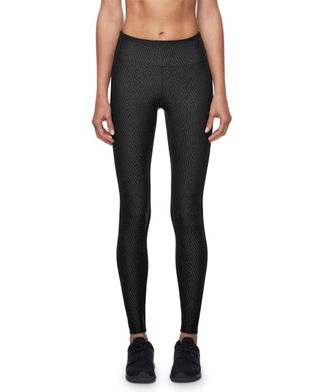 Koral Activewear Drive Full-Length Textured Performance Leggings