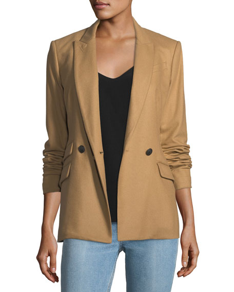 Rag & Bone Duke Double-Breasted Wool-Blend Blazer