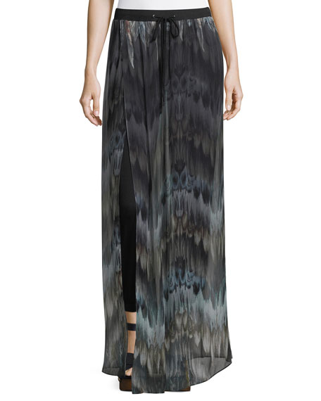 Haute Hippie The Triple S Silk Wide-Leg Pants