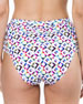 Pearl Island Geometric-Print Swim Bottom
