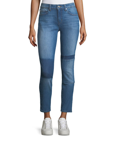 Devi Mid-Rise Authentic Skinny Jeans